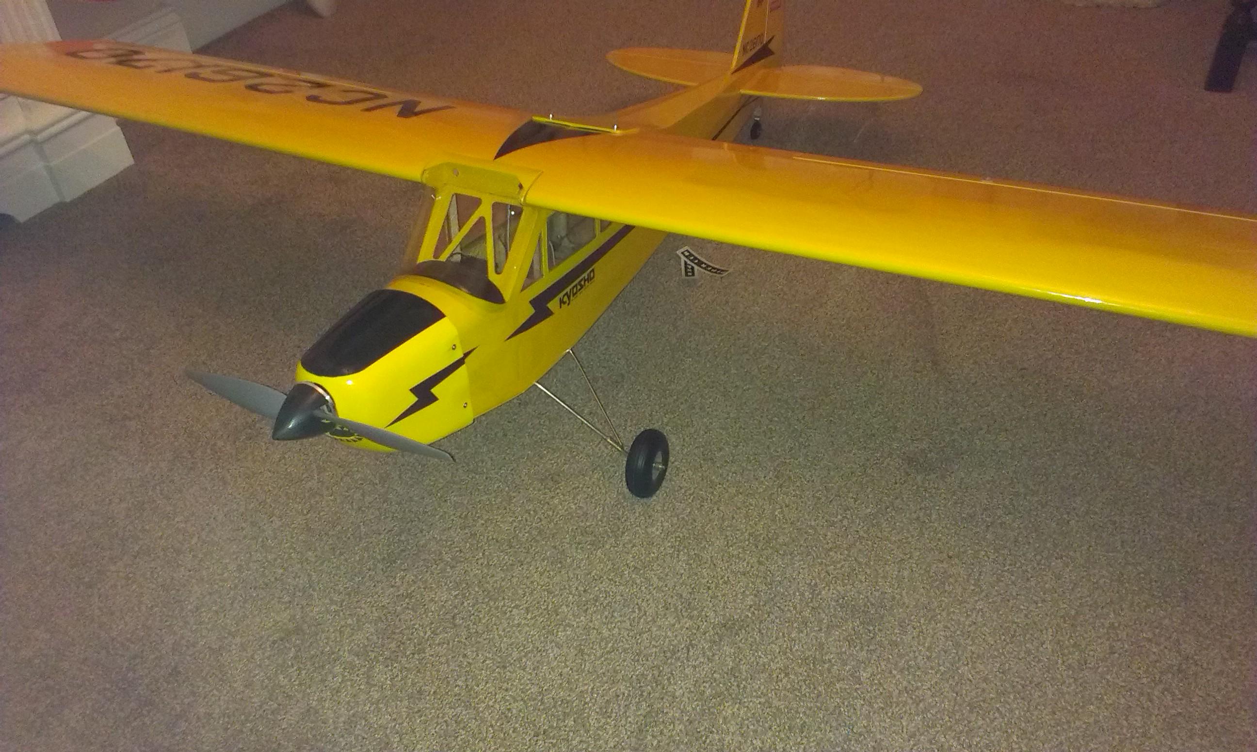 Piper Cub After Repair