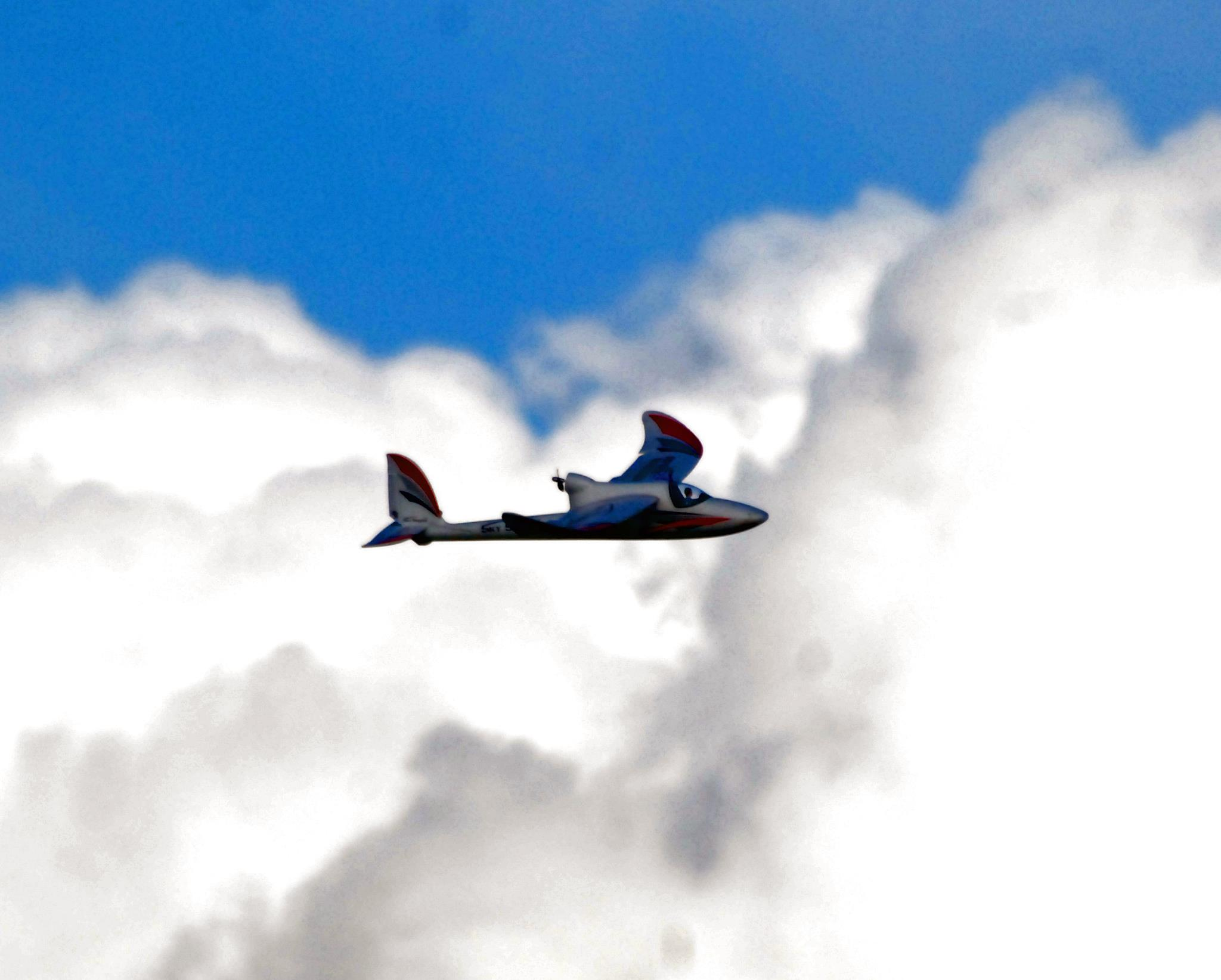 SkySurfer Mid Flight