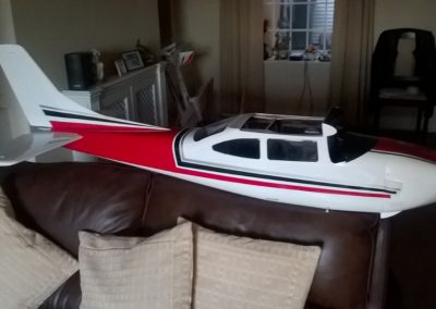 Added Rear Decals & Trim with Solar Trim Note Rudder Now Fitted