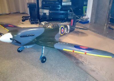 Hanger 9 Mk Spitfire
