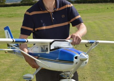 Joe With tian Sheng Cessna 182