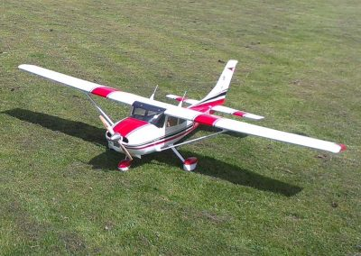 Joe's Top Flite Cessna 182 Just before Maiden Flight
