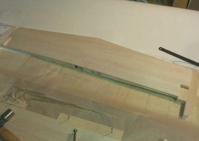 Step1 Making Horizontal Stabliser, Note Already Sheeted Decided Late To Cataloge build