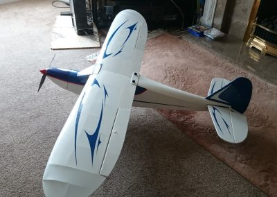 Top View Of Completed Model.