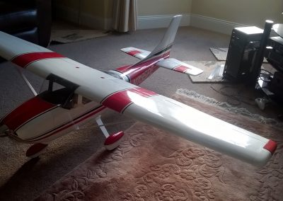 Wing Decals added Plus Flaps And Ailerons. Also Rear Tail cone added