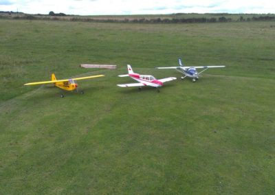 Left-to-Right-Piper-J3-Cub-Cherokee-Tian-Sheng-Cessna-182